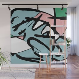 Abstract Painting Design - Flight Wall Mural