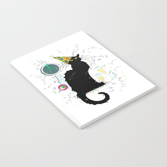 Chat Noir  Party Countdown Notebook