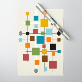 Mid-Century Modern Art 1.3 Wrapping Paper