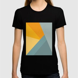 Abstract Mountain Sunrise T-shirt