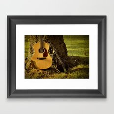 Songs from the Wood Framed Art Print