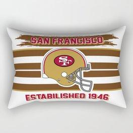 49ers club san francisco Rectangular Pillow