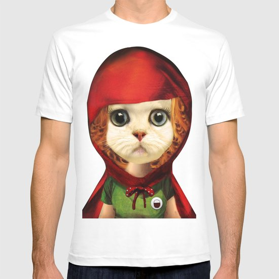 Kitten red riding  T-shirt