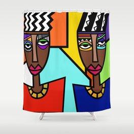 African Beauties  Shower Curtain
