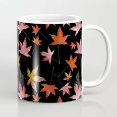 Dead Leaves over Black Mug