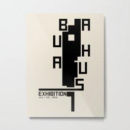 Vintage poster-Bauhaus 23 July 1923. Metal Print