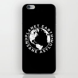 Earth Asylum iPhone Skin