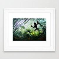 tomb raider Framed Art Prints featuring Lara Croft: Tomb Raider by LaraRobsGraves