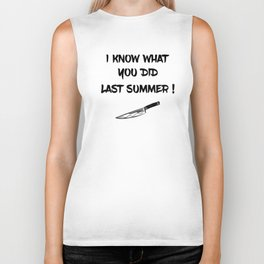 I KNOW WHAT YOU DID LAST SUMMER Biker Tank
