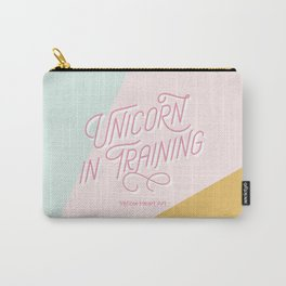 Unicorn in Training Carry-All Pouch