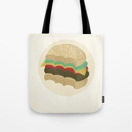 Totally a Burger Tote Bag