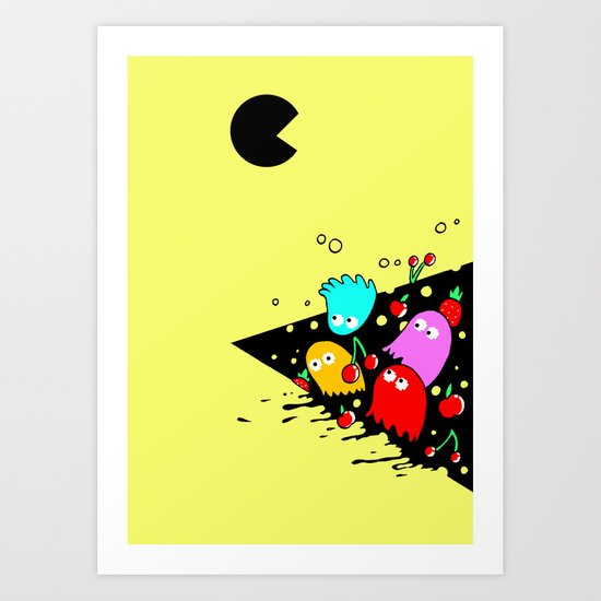 GREEDY  Art Print