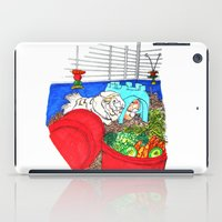 guinea pig iPad Cases featuring Guinea Pigs In A Cage by Adamzworld