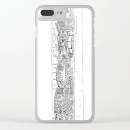 The tower of Falsity Clear iPhone Case