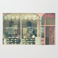 cafe Area & Throw Rugs featuring Sweet Cafe by Cassia Beck