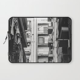 Greece in Black and White Laptop Sleeve