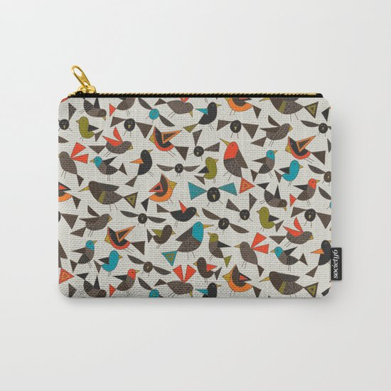 just birds china white Carry-All Pouch