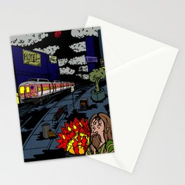 Inner City Blues Stationery Cards