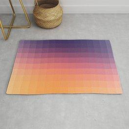 Lumen, Purple and Orange Glow Rug