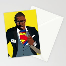 Superman with Swag Stationery Cards