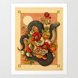 Summer Bouquet Kunstdrucke