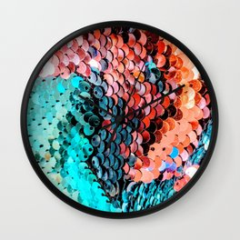 Sequin Wall Clock