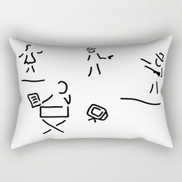 director filmmaker Rectangular Pillow