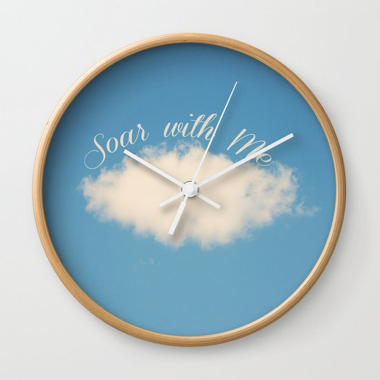 Soar with Me Wall Clock