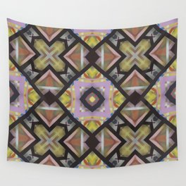 Square Matrix Wall Tapestry