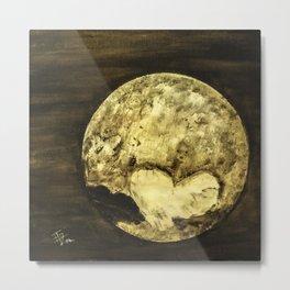 Universal Love from Pluto Metal Print