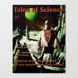 Tales of Science Canvas Print
