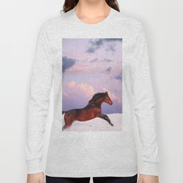 horse collection. winter Long Sleeve T-shirt