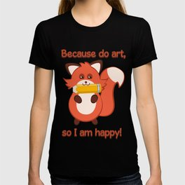 Commisions | foxy artist T-shirt