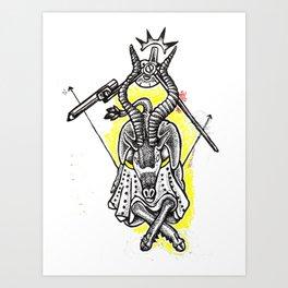 Problem with Ibexs Art Print