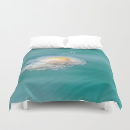 The Yolk Is On You Duvet Cover
