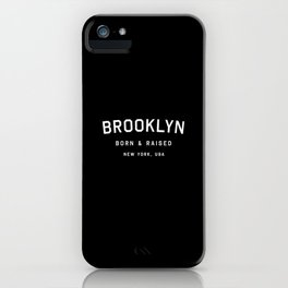 Brooklyn - NY, USA (Arc) iPhone Case