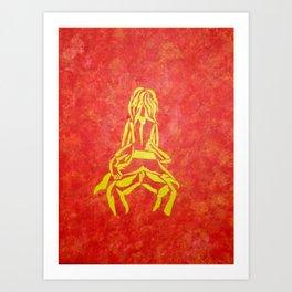 Lusting Art Print