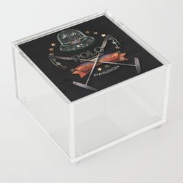 polo black label Acrylic Box