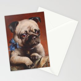 The Pug - Carl Reichert Stationery Cards