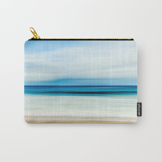 Peaceful ocean waves Carry-All Pouch