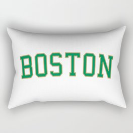 Boston Sport College Logo Rectangular Pillow