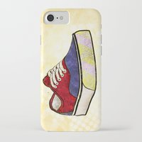 vans iPhone & iPod Cases featuring Man I Need Vans - Classic Sneaker Icon by Dave Conrey