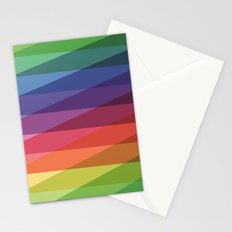 Fig. 040 Rainbow Stripes Stationery Cards