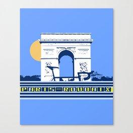 Paris - Roubaix Canvas Print