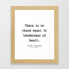 72   | Jane Austen Quotes | 190722 Framed Art Print