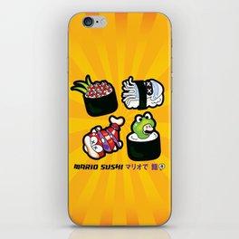 Super Mario Sushi iPhone Skin