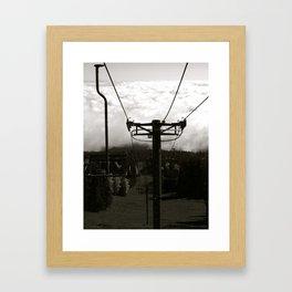 Ski Lift 13 Framed Art Print