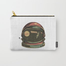 astronaut viewed Carry-All Pouch