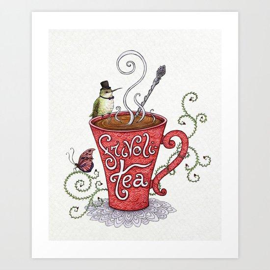 Frivoli-Tea Art Print