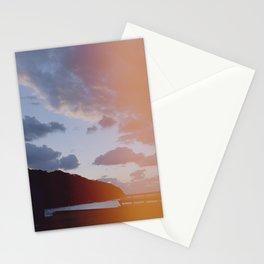 dusk in light leak Stationery Cards
